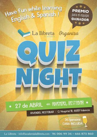 ¿Por qué venir al Quiz Night de La llibreta?