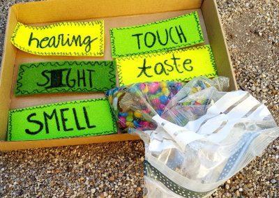 Caja sensorial
