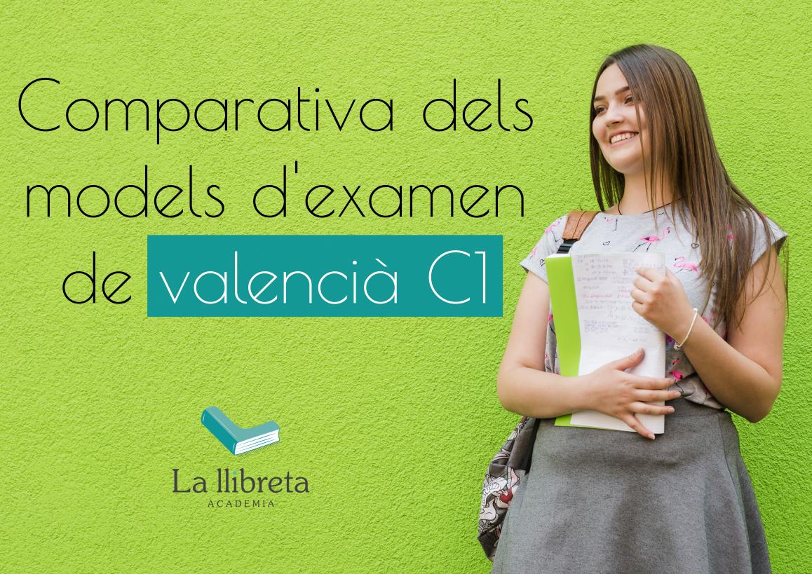 Comparativa models examens valencia.