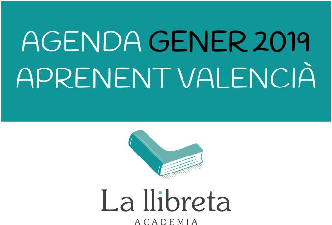 Aprenent Valencià a València- Gener 2019