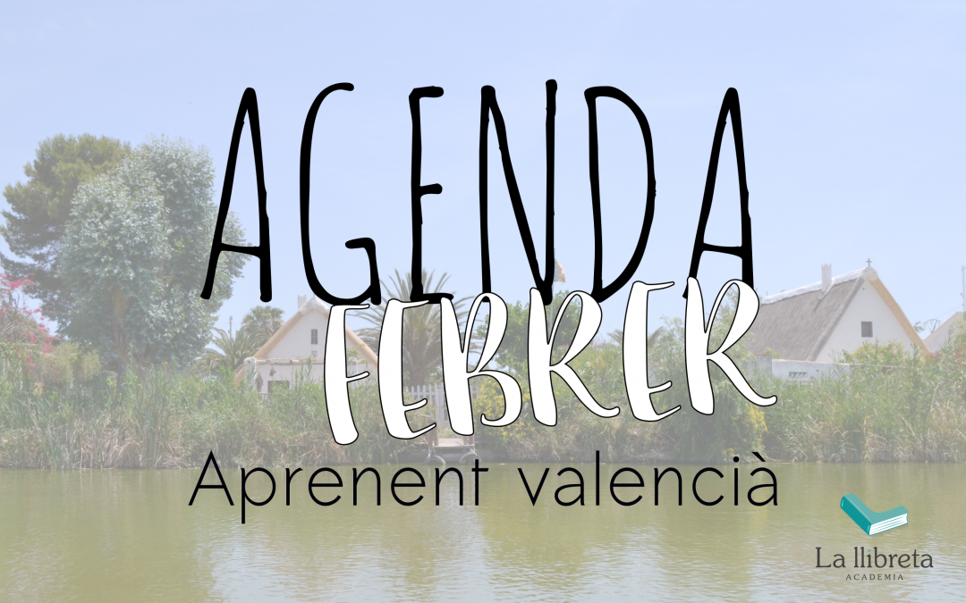 Agenda febrer- Aprenent valencià