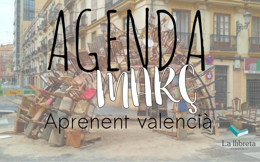 Agenda març- Aprenent valencià