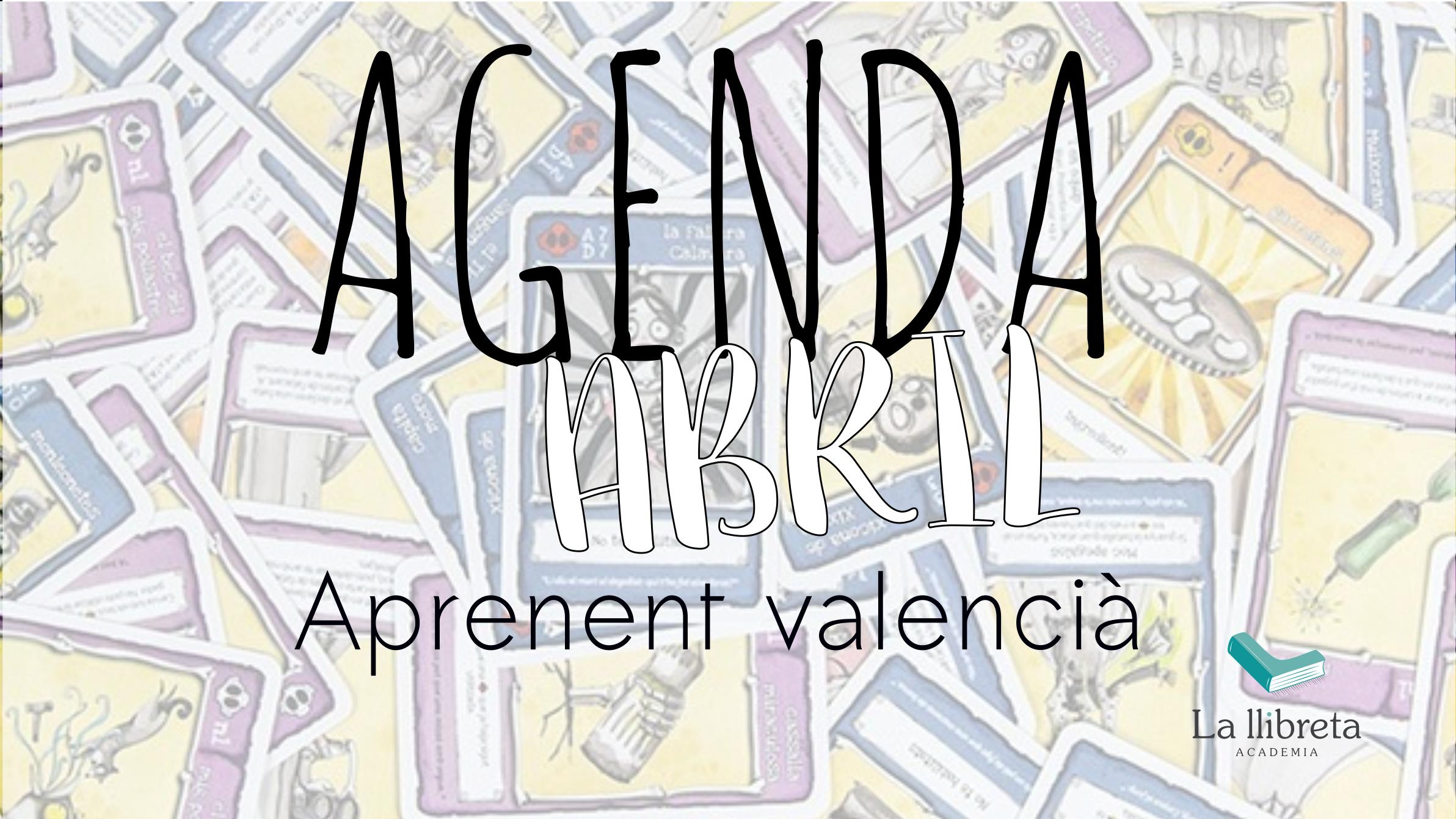 agenda valenciano abril 2019