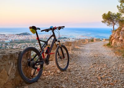 A bike ride around Denia